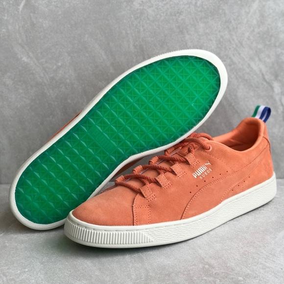 Puma Suede X Big Sean Melon Sneakers